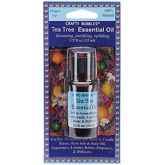 Essential Oils .5 Ounce Pkg Tea Tree Cb22