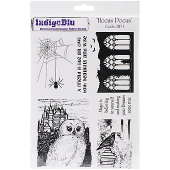 Indigoblu Cling Mounted Stamp 9.25
