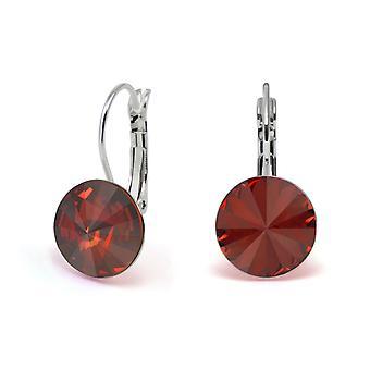 Oorbellen Crystal Red Magma EMB 1.12