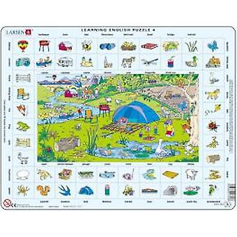 Larsen Learning Ingles Puzzle 4 (Kids , Toys , Table Games , Puzzles)