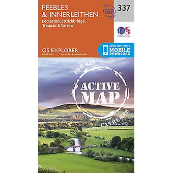 Peebles and Innerleithen by Ordnance Survey