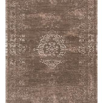 Distressed Natural Classic Traditional Square Rug - Louis De Poortere