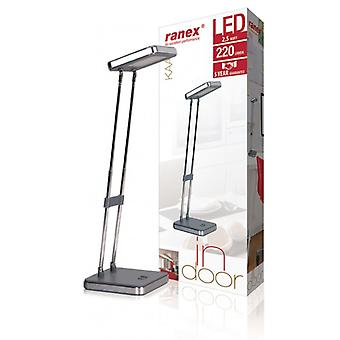 Ranex LED Desk Lamp 2.5 W Grey