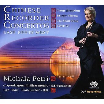 Jianping/Sheng/Shui-Long/Chen Yi - East Meets West: Chinese Recorder Concertos [SACD] USA import
