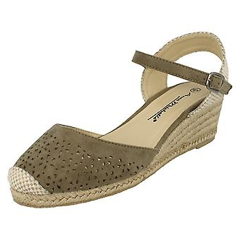 Ladies Anne Michelle Open Back Sandals