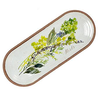 Epicurean Alfresco Melamine Appetiser Serving Tray, 37.5cm x 15.5cm