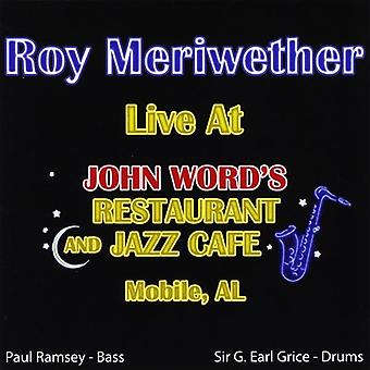 Roy Meriwether - Live på John ordet [DVD] USA import