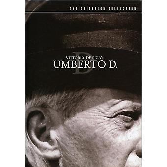 Umberto D [DVD] USA import