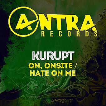 Kurupt - On Onsite / Hate on Me [CD] USA import
