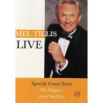 Mel Tillis - Live [DVD] USA import