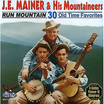 J.E. Mainer - Run Mountain [CD] USA import