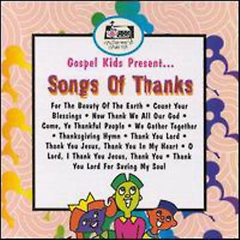Gospel Kids - sange af Thanksgiving [CD] USA import