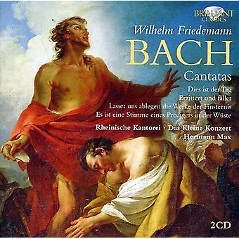 Bach - Wilhelm Friedemann Bach: Kantater [CD] USA import