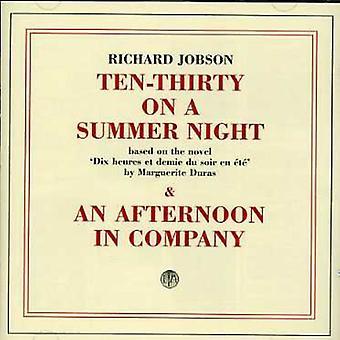 Richard Jobson - 10.30 på en sommer aften/eftermiddag i selskab [CD] USA import
