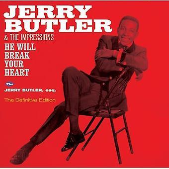 Jerry Butler - He Will Break Your Heart + Jerry Butler [CD] USA import