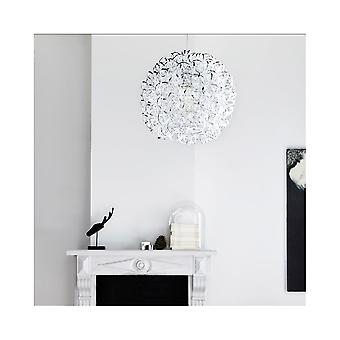 Lucide NOON Silver Ball Globe Pendant