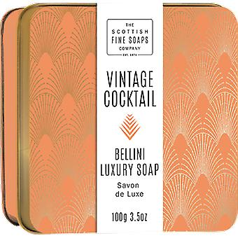 Scottish Fine Soaps Vintage Cocktail Bellini Seife in der Dose