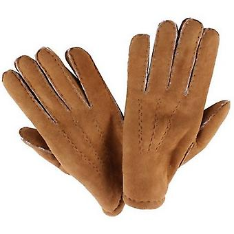 Dents Camel York Lambskin Gloves - Beige