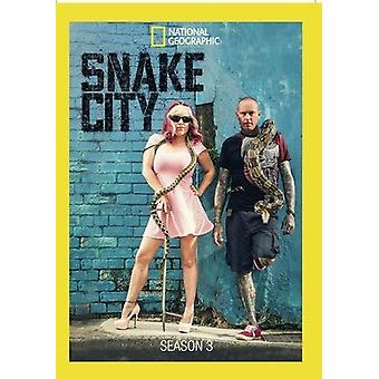 Snake City: Season 3 [DVD] USA import