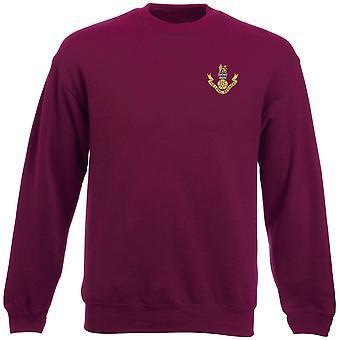 Il Regiment leale ricamato Logo - ufficiale dell'esercito britannico dei pesi massimi Sweatshirt