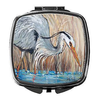 Carolines Schätze JMK1228SCM Blue Heron Kompakt-Spiegel