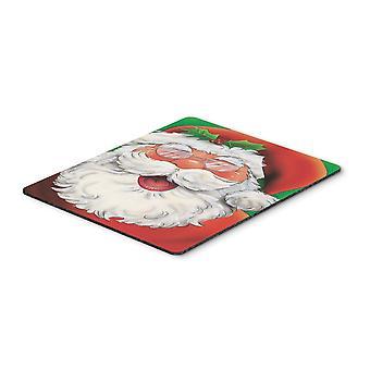 Cojín de ratón de Carolines tesoros AAH7262MP alegre Santa Claus, almohadilla caliente o latas de refrescos