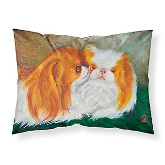 Japanese Chin Best Friends Fabric Standard Pillowcase