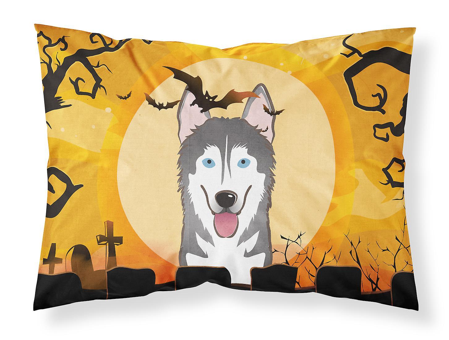Halloween Taie D'oreiller De Tissu Alaskan Standard Malamute jq35cLA4RS