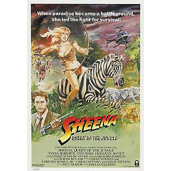 Sheena film affisch (11 x 17)
