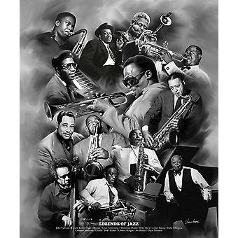 Legends of Jazz Poster Print by Wishum Gregory (20 x 24)