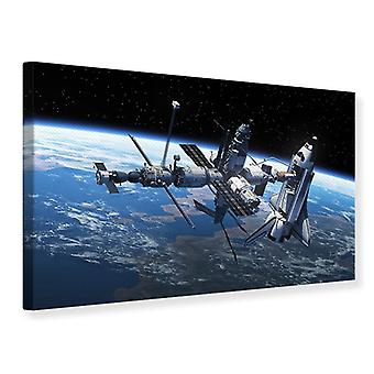 Canvas Print Satellite