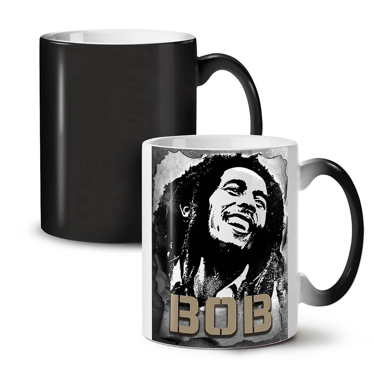 Céramique Marley Souriant 11 Couleur Café Thé Nouvelle Noir Changeant Bob Tasse OzWellcoda wONnP80kX