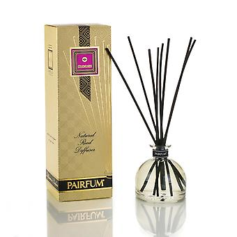 Large & Natural Reed Diffuser - Long-lasting & Healthy - Beautiful Perfumes that Compliment You - Fragrances for 6 - 9 months (250 ml) - by PAIRFUM - Perfume: Black Orchid - with Black Reeds