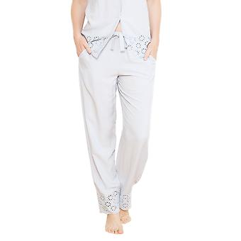Cyberjammies 3688 vrouwen Beetrix grijs effen kleur Pajama pyjama's Pant