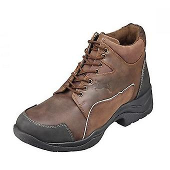 Harry Hall Adults Unisex Leather Endurance Boots