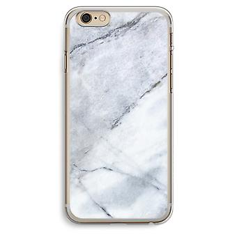 iPhone 6 Plus / 6S Plus Transparent Case - Marble white