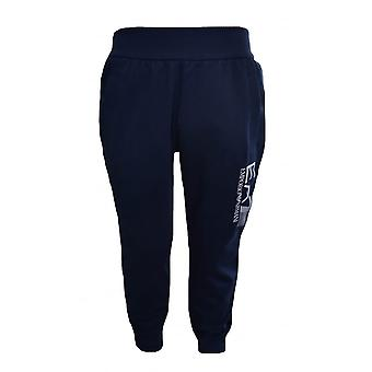 EA7 Boys EA7 Kids Navy Blue Jogging Bottoms