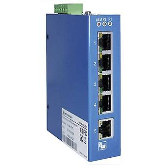 Unmanaged Wachendorff ETHSW500 No. of Ethernet ports 5