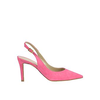 Cardiff ladies MCGLCAT03218E pink suede leather heel shoes