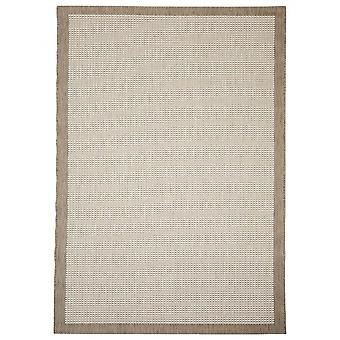 In- en outdoor carpet balkon / huiskamer van Essentials chrome beige 200 x 290 cm