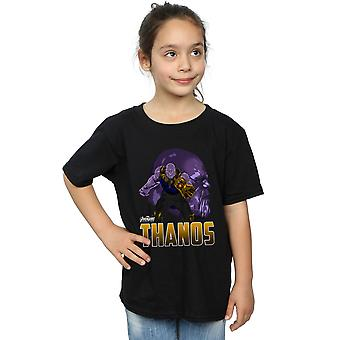 Avengers Girls Infinity War Thanos Character T-Shirt