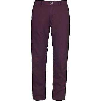 Trespass Mens Milium Cotton Twill Casual Walking Trousers