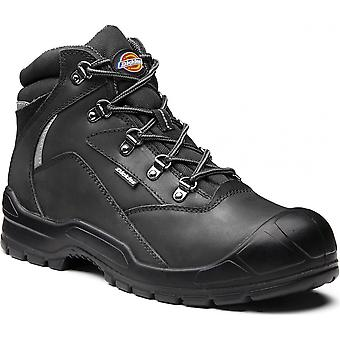 Dickies Mens Davant II Leather Breathable Steel Toe Cap Safety Boots