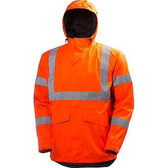 Helly Hansen Mens Alta Shelter Waterproof High-Vis Workwear Jacket
