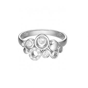 ESPRIT women's ring stainless steel Silver JW50230 cubic zirconia ESRG02866A1