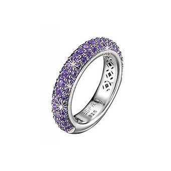 Esprit Collection Damen Ring Silber Zirkonia Amorbess Gr.18 ELRG91400C180