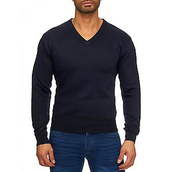 Men's fine gauge sweater sweater long sleeve long sleeve shirt V Neck Cardigan