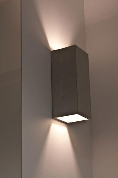Concrete lamp Wall lamp Guro light grey H: 25 cm 10636