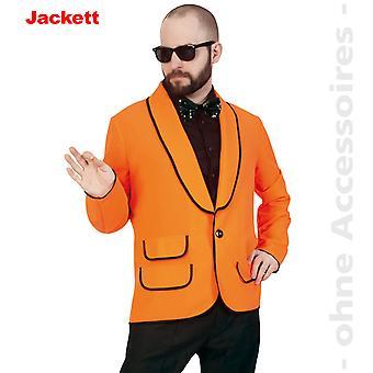 ジャケット衣装メンズ オレンジ ネオン ダンディ男性衣装