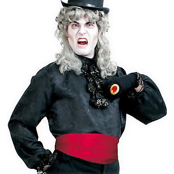 Sash Red Dracula vampire costume accessory